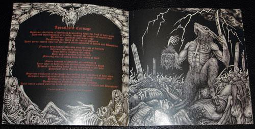BLACK WITCHERY - Inferno Of Sacred Destruction (CD w/ DVD)