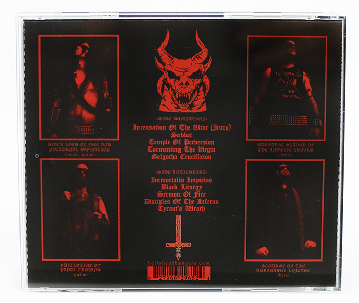 Abysmal Lord - Storms Of Unholy Black Mass