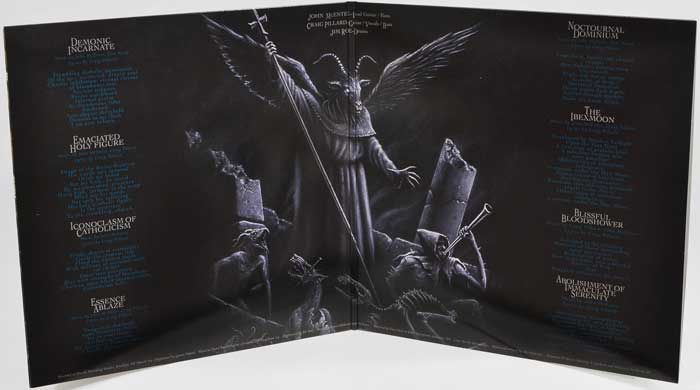 Incantation Mortal Throne Of Nazarene 12 Quot Lp