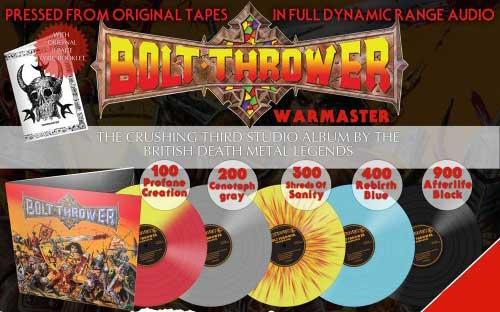 BOLT THROWER - War Master (12