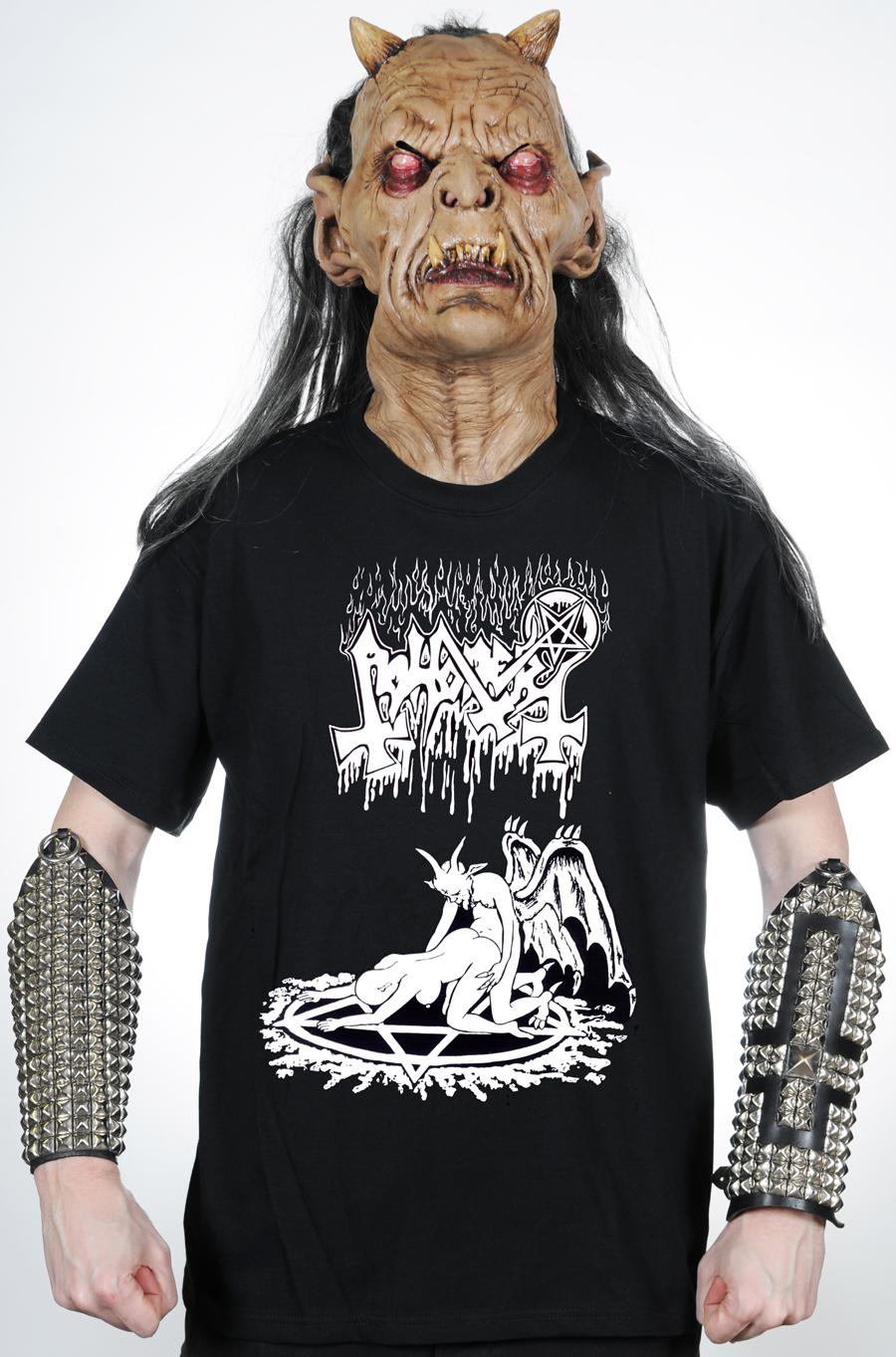 Heavy Black Death Thrash Metal Band Shirts Clothing Hells Abhorer