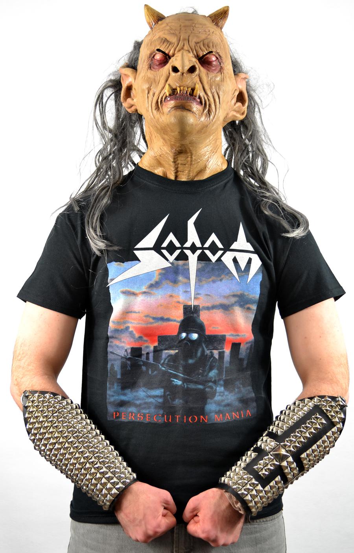 Persecution Mania T-shirt Herrenmode Sodom