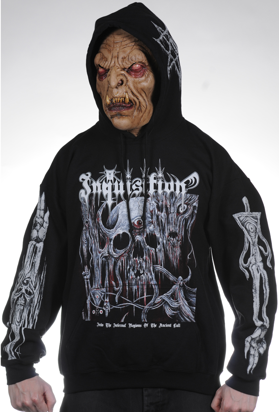 Black Death Metal Hoodies - CLOTHING | Hells Headbangers